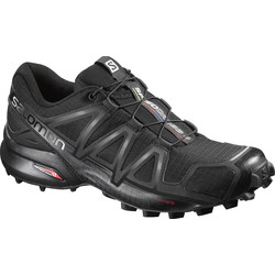 67de5672c76 Salomon Speedcross 4 Womens Trail Running Shoes - Black Black Metallic