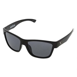 Venture Eyewear Escape Floating Polarised Sunglasses - Matt Black/Grey
