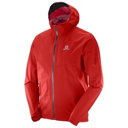 Salomon Bonatti Mens Lightweight Waterproof Jacket  - Matador-X