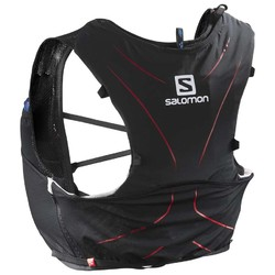 Salomon Advanced Skin 5 Set Hydration Vest- Black/Matador