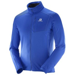 Salomon Discovery Mens Full Zip Fleece - Surf The Web