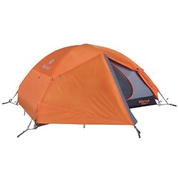 Marmot Fortress 2 Person Lightweight Backpacking Tent - Tangelo/Grey