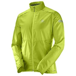 Salomon Agile Wind Mens Jacket- Acid Lime