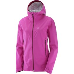 Salomon La Cote Stretch 2.5L Womens Jacket- Rose Violet