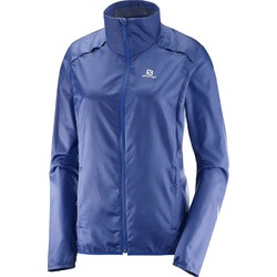 Salomon Agile Wind Womens Jacket- Medieval Blue