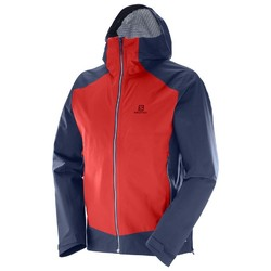 Salomon La Cote Stretch 2.5L Mens Jacket- Matador