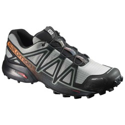 Salomon Speedcross 4 CS Mens Trail Running Shoes - Shadow/Black/Hawaiian Sunset