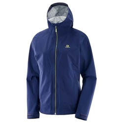 Salomon La Cote Flex 2.5L Womens Waterproof Jacket S18- Medieval Blue