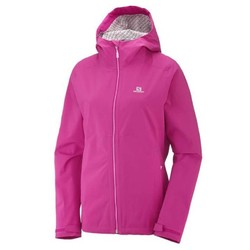 Salomon La Cote Flex 2.5L Womens Waterproof Jacket S18- Pink Yarrow
