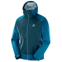 Salomon La Cote Stretch 2.5L Mens Jacket - Moroccan Blue/Reflecting Pond