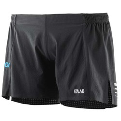 "Salomon S/Lab Womens 6"" Lightweight Running Short S18 - Black"