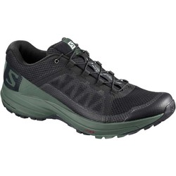 Salomon XA Elevate Mens Trail Running Shoes - Black/Balsam Green/Black