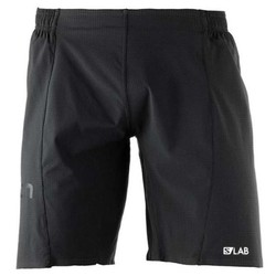 "Salomon S/Lab 9"" Mens Lightweight Running Shorts S18 - Black"