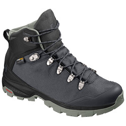 Salomon Outback 500 GTX Womens Hiking Boots - Ebony/Black/Shadow