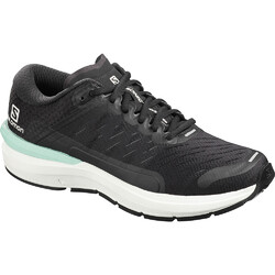Salomon Sonic 3 Confidence Womens Road Running Shoes - Black/White/Quiet Shade
