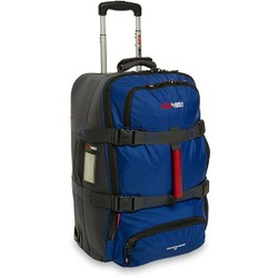 Black Wolf Ridgerunner 60L Rolling Bag - Blue