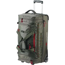Caribee Scarecrow DX 70L Wheeled Duffle Bag - Forest Olive