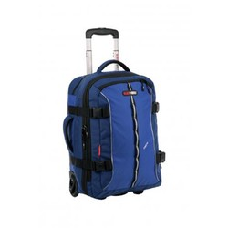 Black Wolf Kinetic 45L Wheeled carry-on Bag - Blue
