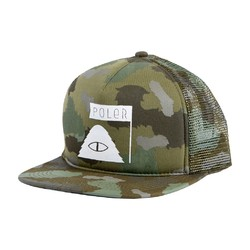 Poler Summit Mesh Trucker - Camo