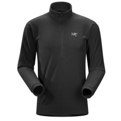 Arcteryx Delta Lt Zip Mens Fleece - Black