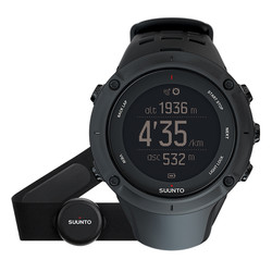 Suunto Ambit 3 Peak HR GPS Watch - Black-Black