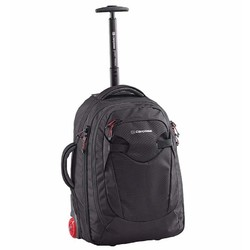 Caribee Fast Track 45L Wheeled Carry-On Backpack - Black