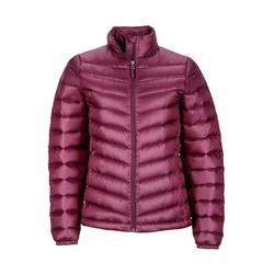 Marmot Jena Womens Lightweight Puffer Down Jacket - Dark Purple