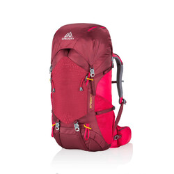 Gregory Amber 44 Womens Hiking Backpack - Chili Pepper Red