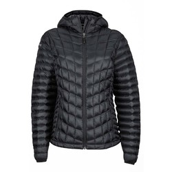 Marmot Featherless Womens Puffer Hoodie - Black