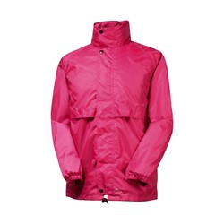 Rainbird Stowaway Unisex Waterproof Jacket - Rasberry
