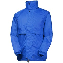 Rainbird Stowaway Unisex Waterproof Packable Rain Jacket - Royal