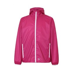 Rainbird Gostow Unisex Waterproof Packable Rain Jacket - Bright Berry