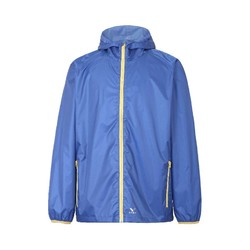 Rainbird Gostow Waterproof Packable Rain Jacket - Strong Blue