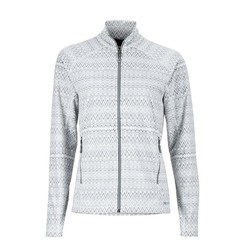 Marmot Womens Rocklin Fleece Full Zip Jacket - Soft White Alps