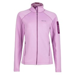 Marmot Womens Stretch Fleece Jacket - Hydrangea