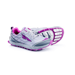Altra Superior 2 Womens Trail Running Shoes - Silver/Purple