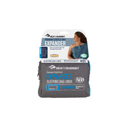 Sea To Summit Expander Sleeping Bag Liner - Standard Navy Blue