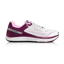 Altra Intuition 4 Womens Wide Road Running Shoes - Gray/Purple
