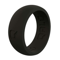 QALO Mens Q Black Q2X Silicone Ring
