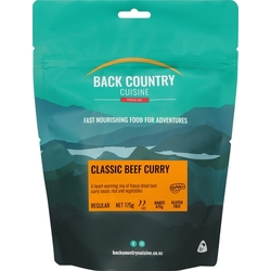 Back Country Freeze Dried Food Classic Beef Curry 2 Serve