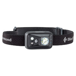 Black Diamond SPOT LED Head Lamp with RED LED - 200 lumens - Black