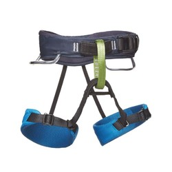 Black Diamond Momentum Kids Climbing Harness S18 - Kingfisher