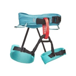 Black Diamond Momentum Kids Climbing Harness S18 - Salt Water