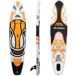 "Aqua Marina Magma 10' 10"" Inflatable SUP - Plus Standard Sup Paddle"