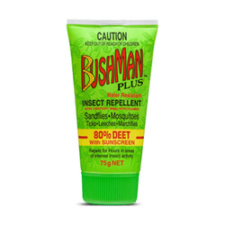 Bushman Plus Repellent with Deet and Sunscreen