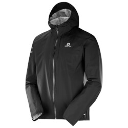 Salomon Bonatti Mens Waterproof Jacket - Black