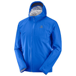 Salomon Bonatti Mens Waterproof Jacket - Nautical Blue