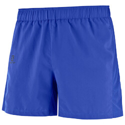Salomon Agile 5'' Mens Running Short - Poseidon