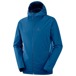 Salomon Essential Mens Jacket - Poseidon