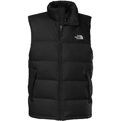 The North Face Mens Nuptse Down Puffer Vest Black
